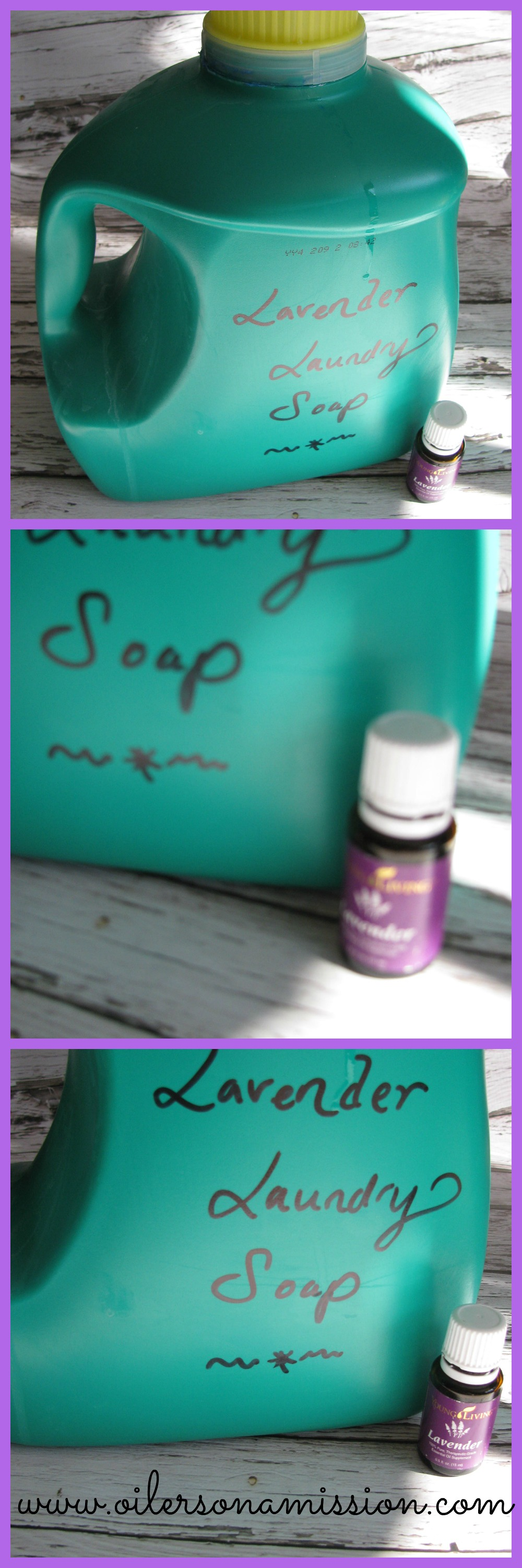 DIY Lavender Laundry Soap OOAM