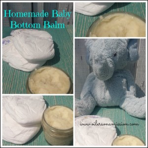 Homemade Baby Bottom Balm