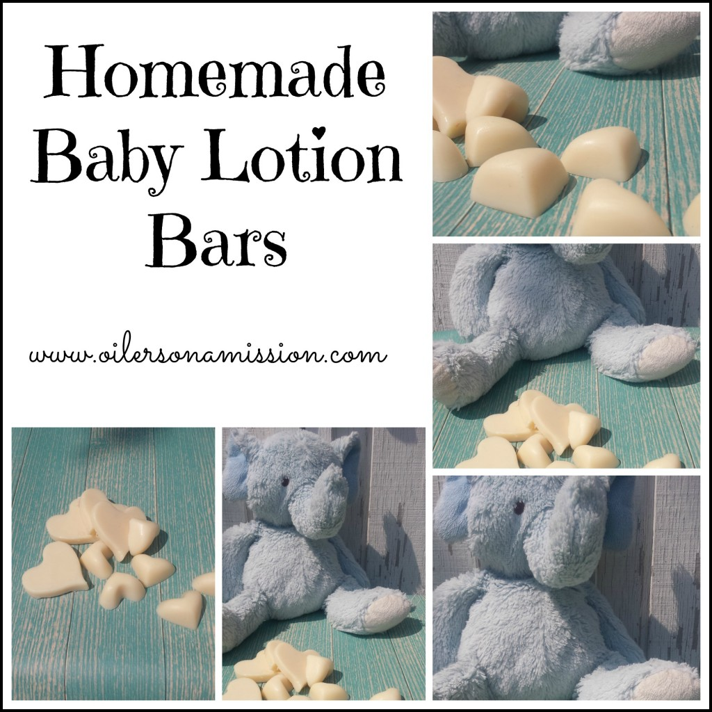 Homemade Baby Lotion Bars ooam