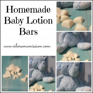 Homemade Baby Lotion Bars