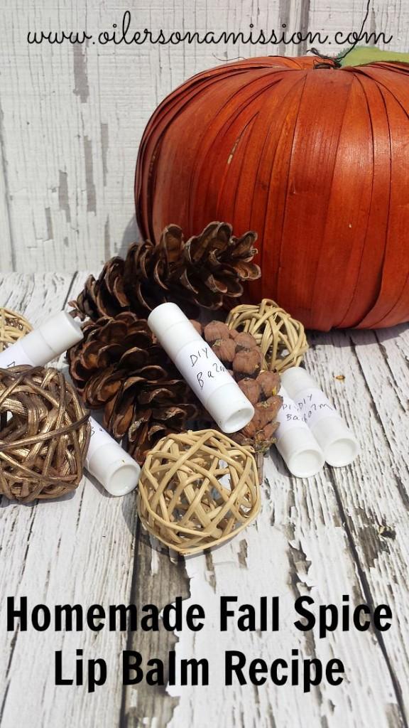 DIY Fall Spice Lip Balm Recipe ooam