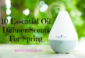 10 Spring Scents for Your Diffuser