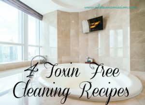 4 Toxin Free Cleaning Recipes